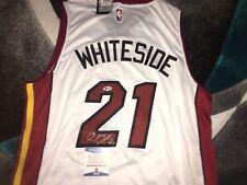 Hassan Whiteside Signed Miami Heat Jersey Superstar Beckett