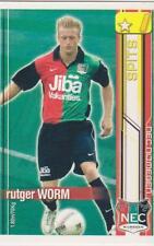 All Stars TCG 2007/2008 Trading Card Rutger Worm NEC Nijmegen