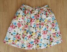 Cath Kidston Floral Button Front Skirt Ladies Size XS vintage pretty kidson kath