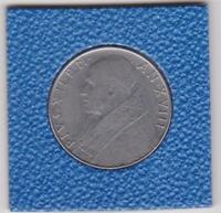 100 Lire Vatikan 1956 Pius XII Vaticano