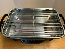 Gently Used Farberware Open Hearth Electric Grill Model 450 Compact Small Indoor