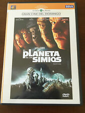 EL PLANETA DE LOS SIMIOS PLANET OF THE APES - 1 DVD - 120 MIN - 2001 - WAHLBERG