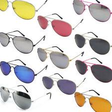 Unbranded Rectangular Metal Frame Sunglasses for Men