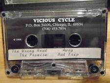 RARE PROMO Vicious Cycle DEMO CASSETTE TAPE rock 4 UNRELEASED Chicago IL 1994