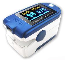 Fingertip Pulse SpO2 Oximeter Blood Oxygen Monitor PLUS