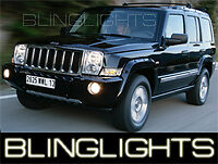 2006-2010 JEEP COMMANDER XENON HALOGEN FOG LIGHTS Driving lamps 07