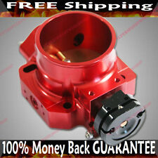 Red Throttle Body fits Honda 88-00 Civic 93-98 Del Sol 88-91 CRX B16 / B17 / B18