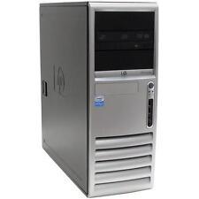 PC FISSO HP CORE DUO COMPU TOWER 7700 COMPUTER 1,80 GHZ 160 GB HD WINDOWS VISTA