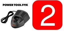 2x Bosch AL1130CV AL1130CV 10,8V Quick 30 MIN Battery CHARGERS 2607225136 1154#