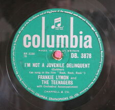 Frankie Lymon  / I`m Not A Juvenile Delinquent & Baby, Baby (132-0913)
