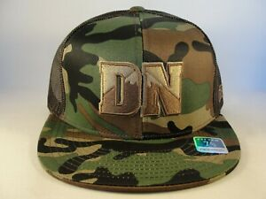 Denver Nuggets NBA Reebok Camo Fitted Hat Cap Size 7 3/8