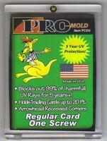 10) Pro-Mold 1-Screw Screw-Down Card Holder Regular Card Size 20pt Arrow Corners