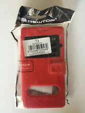 Coque Sony Xperia T3 Etui Rouge Red Rot Rojo Phone Cover Telephone Cap