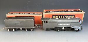 Prewar Lionel O Gauge 1689e Locomotive & 1689W Tender w/Boxes