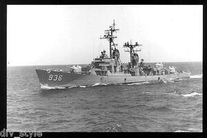 USS Decatur DD-936 postcard US Navy Destroyer