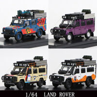 Master 1:64 Land Rover Defender 110 With luggage Diecast Car Model Collection