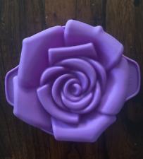 ROSE FLOWER GARDEN TEA PARTY MOLD CUPCAKE PAN CHOCOLATE CANDY MOLD