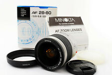 【EXC+++++】Minolta AF Zoom 28-80mm f/3.5-5.6 D Zoom Lens From Japan #T009