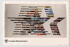 1982 Robert Rauschenberg LOS ANGELES 1984 OLYMPIC GAMES Fine Art Series POSTER