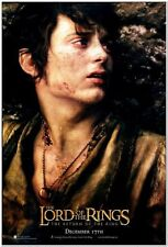 LORD OF THE RINGS: ROTK - Original 27x40 D/S Advance movie poster of ELIJAH WOOD