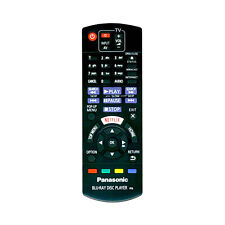 Brand New Remote for Panasonic DMP-BDT380EB Smart 3D Blu-ray & DVD Player