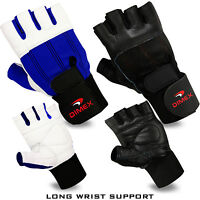 Weight Lifting Gym Fitness Gloves Body Building Sports Training Wrist Supports
