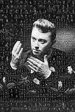 LARGE ORIGINAL MOSAIC PHOTO POSTER IN VARIOUS COLOURS OF SAM SMITH No 7