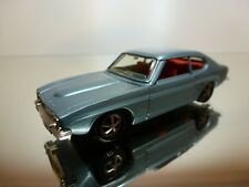 MARKLIN FORD CAPRI - LHD - BLUE METALLIC 1:43 - GOOD CONDITION