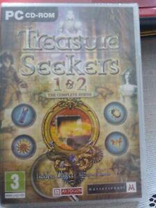 Treasure Seekers 1&2 Complete Series Pc CD Rom Game New Sealed