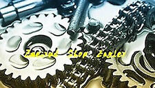 Kettensatz 11 / 38 Z  Kreidler RMC S 5 Gang Kettenrad Ritzel Kette 415 H
