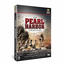 Pearl Harbor - The Collection (New 3 DVD Set) WW2 Naval Warfare Aircraft Harbour