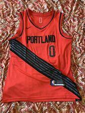 Portland Trailblazers DAMIAN LILLARD Jersey New W/O Tags Adult Size Large