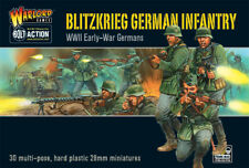 WGB-WM-02 - 28 mm WWII Blitzkrieg INFANTERIE ALLEMANDE-Bolt Action-Warlord Games