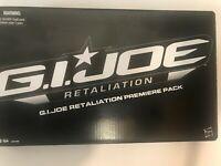 GI Joe Retaliation Premiere Figure Pack MISB Hasbro