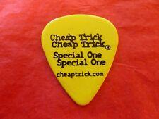 Cheap Trick Tour Guitar Pick Rick Nielsen Yellow