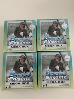 2020 Topps Bowman Chrome Mega Box Exclusive Baseball Lot x4! *IN HAND & SEALED*
