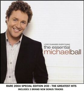 Michael Ball - Very Best Greatest Hits Collection RARE 2004 2CD Stage & Screen