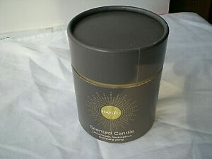 HAYO,U SCENTED LARGE CANDLE - LOTUS FLOWER - FRANKINCENSE - 220G - BRAND NEW