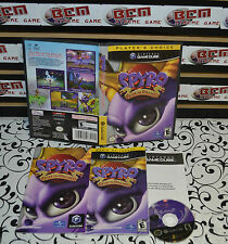 Spyro: Enter the Dragonfly (Nintendo GameCube, 2002) Complete and Works on Wii