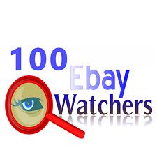 100 ebay watchers