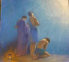 Baron Arild Rosenkrantz (1870-1964)- L'Apparition - Pastel Symbolist