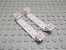 Lego 2 Schrägsteine 6x1-1x4 negativ 45 Grad weiß 52501 Set 7890 7744 7888 75021