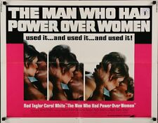 MAN WHO HAD POWER OVER WOMEN half sheet movie poster 22x28 ROD TAYLOR 1970