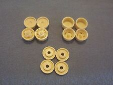 Ford 4X4 Dually Wheels with Lock Out Hubs & Wheel Backs 1/24 1/25 scale