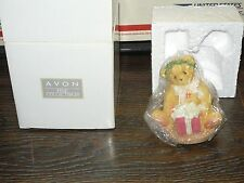"""Cherished Teddies Margy """"I'm Wrapping Up A Little Holiday Joy."""" Avon Exclusive"""