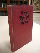 Great Revival Hymns inscribed by Annie MacLaren- Billy Sunday's Soloist