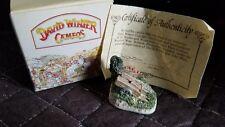 "1991 David Winter Cameos ""Greenwood Wagon"" Miniature Figure / Sculpture"