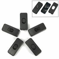 5x Inline Schalter Kabel Licht Elektrokabel EIN/AUS Tisch Schreibtischlamp Teile
