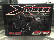 Snap-On Traxxas X-Maxx RC Truck Limited Edition Black 1/5 Scale 8S 50 MPH