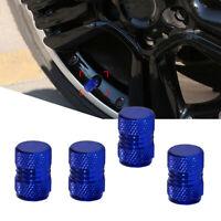 4x Aluminium Car Motorbikes Bike Tyre Valve Alloy Dust Caps Cover Accessories